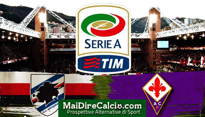 sampdoria-fiorentina-formazioni ufficiali