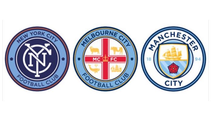 manchester city retro logo