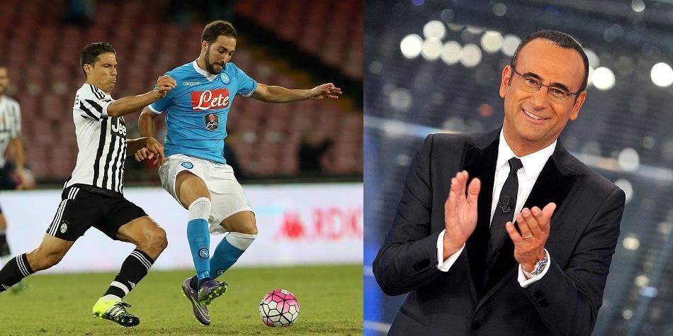 Rai International: Juventus-Napoli in diretta, Sanremo in differita