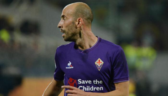 Borja Valero, Fiorentina - Fonte Twitter ACF Fiorentina