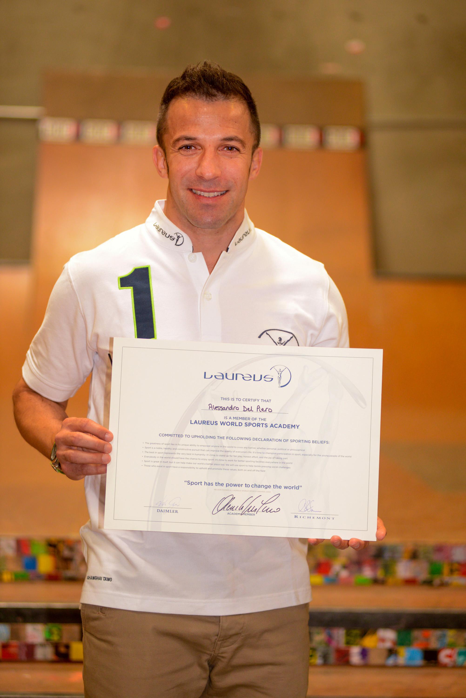 Alessandro Del Piero nuovo ambassador dei Laureus Awards