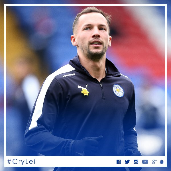 Danny Drinkwater centrocampista Leicester
