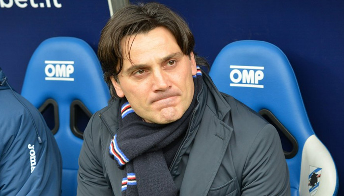 Vincenzo Montella - Fonte Sampdoria Twitter ufficiale