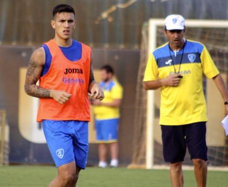 Leandro Paredes e sullo sfondo Marco Giampaolo, il tecnico che l'ha inventato regista ad Empoli. 25 presenze e due gol per il giovane argentino di proprietà della Roma