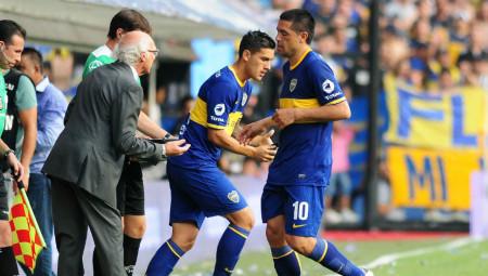 Paredes sostituisce il suo idolo Juan Roman Riquelme ai tempi del Boca Juniors.