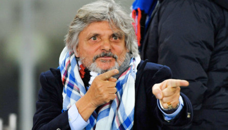 Massimo Ferrero, Presidente Sampdoria - Fonte account Twitter ufficiale Sampdoria