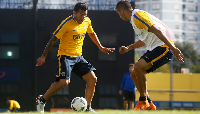 Carlitos Tevez - Fonte Twitter Boca Juniors Ufficiale
