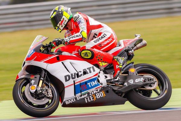 Andrea Iannone. Fonte: Twitter @MotoGP