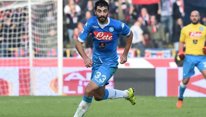 Raul Albiol, Napoli - Fonte Twitter account ufficiale SSC Napoli