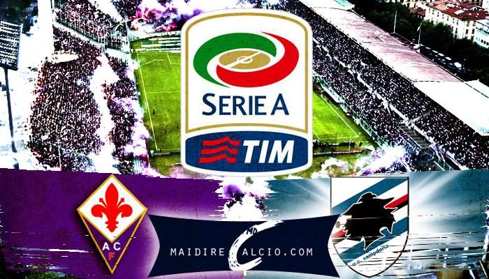 Fiorentina-Sampdoria - Formazioni ufficiali
