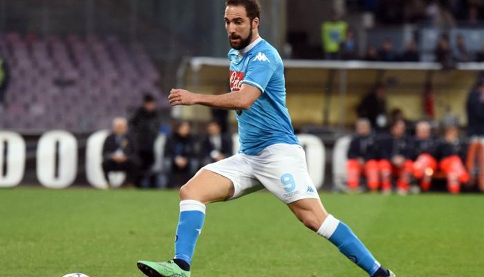 Gonzalo Higuain Napoli - Fonte Twitter ufficiale SSC Napoli