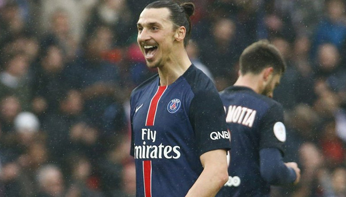 Zlatan Ibrahimovic PSG - Fonte Twitter PSG