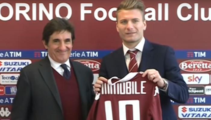 Ciro Immobile, Torino - Fonte account Twitter ufficiale Torino Calcio