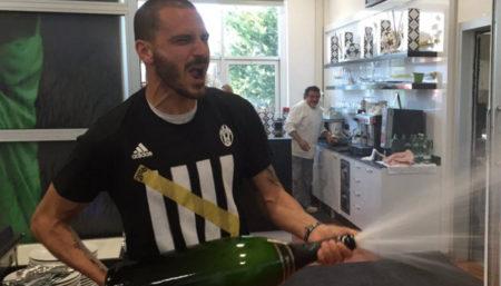 Leonardo Bonucci, Juventus - Fonte Twitter account Juventus FC