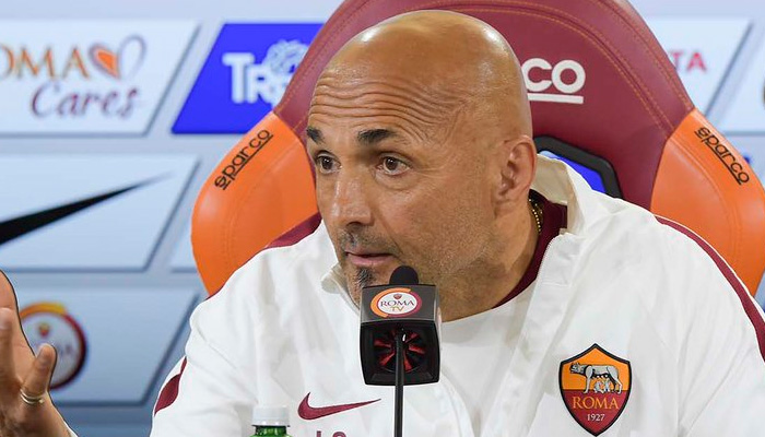 Luciano Spalletti, Roma - Fonte account twitter ufficiale AS Roma
