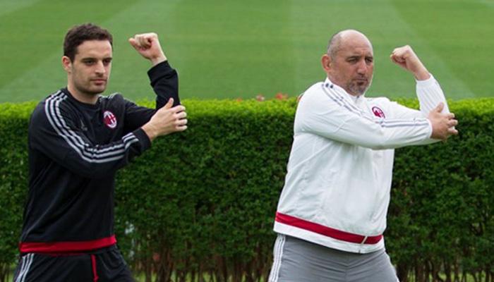 John Maori e Jack Bonaventura, Tekitanka Milan - Fonte AC Milan