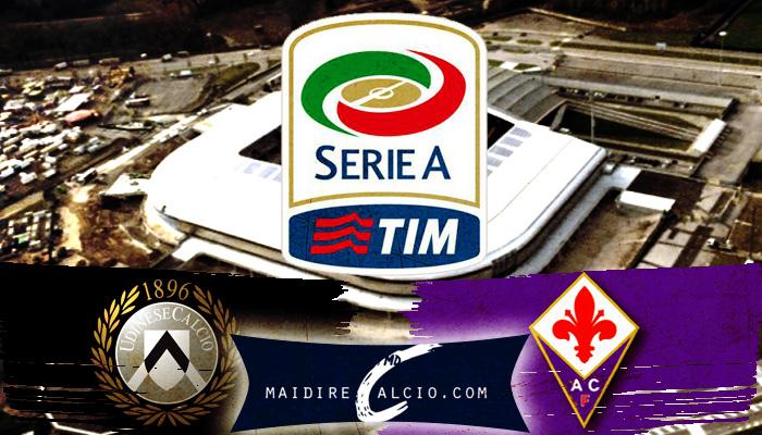 Udinese-Fiorentina, formazioni ufficiali