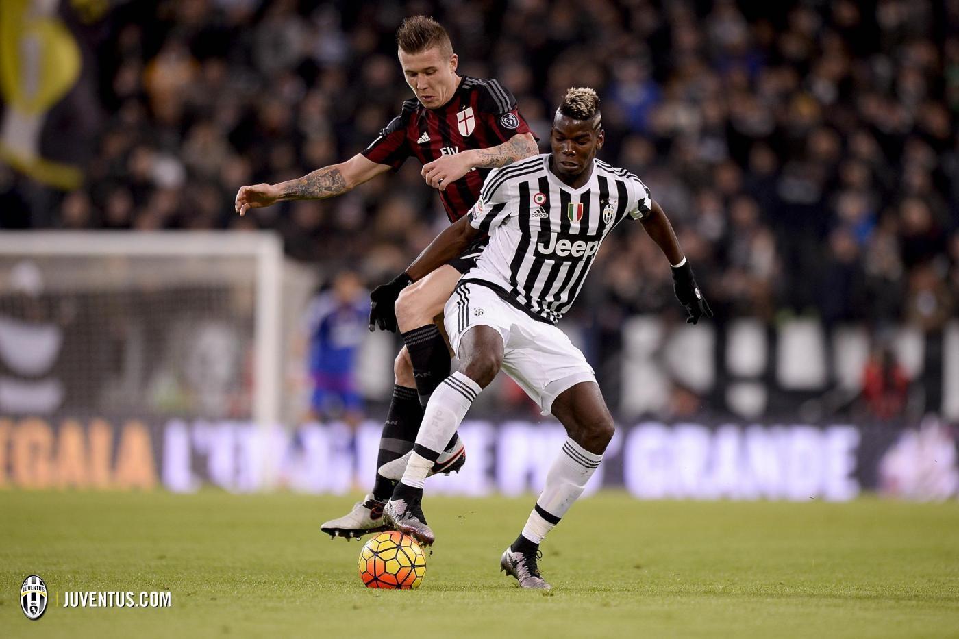 Pogba Juventus-Milan