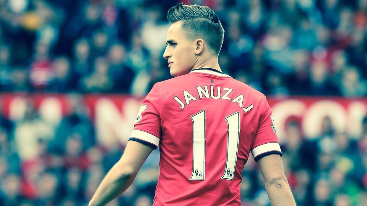 Adnan Januzaj con la maglia del Manchester United - FOTO: account ufficiale Facebook Adnan Januzaj