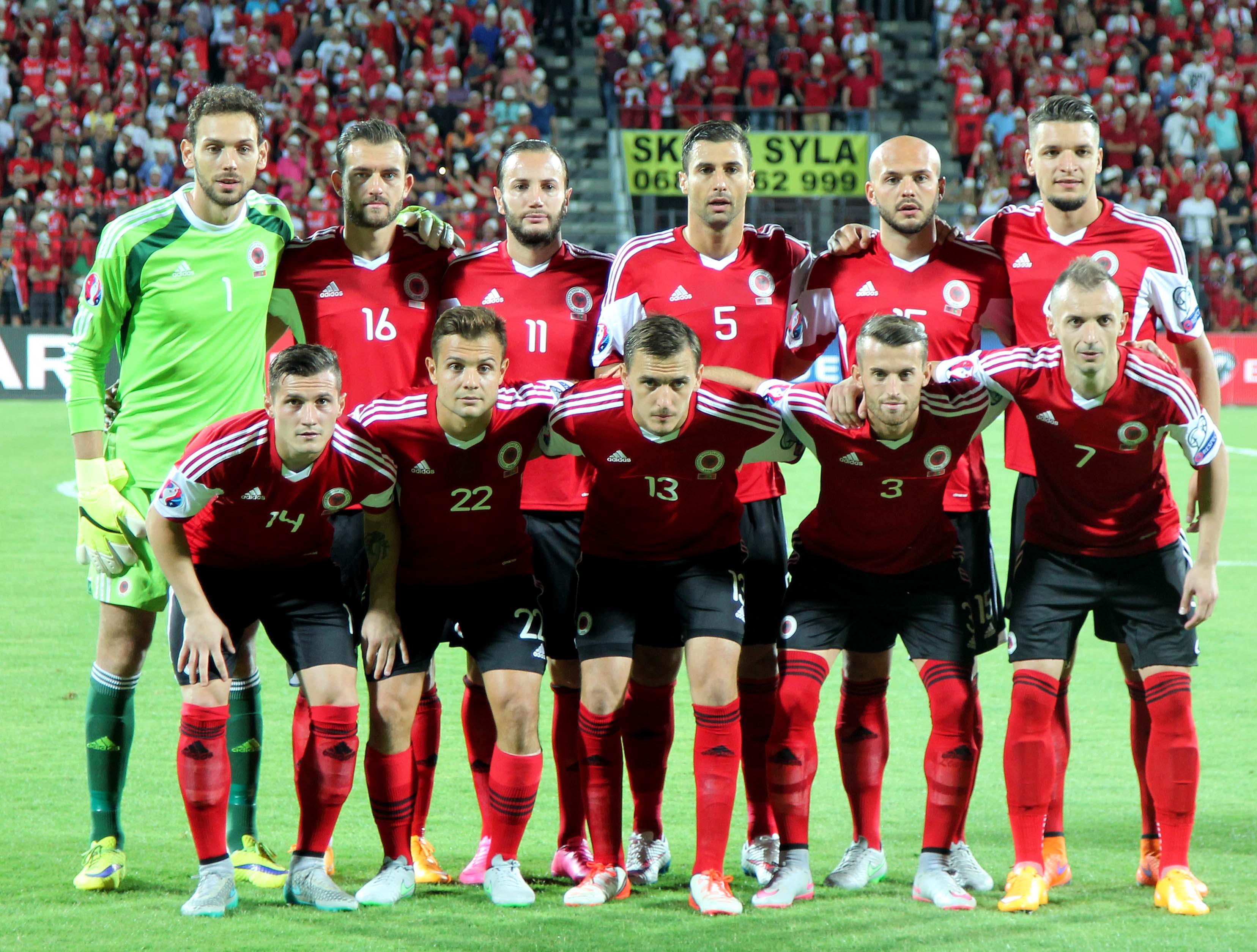 Fonte: Federata Shqiptare E Futbollit, sito ufficiale Nazionale albanese