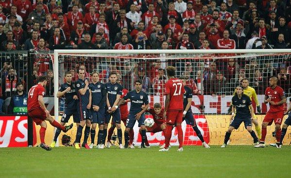 Bayern Monaco-Atletico Madrid, Champions League