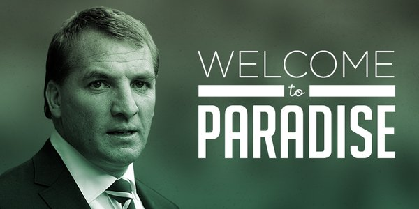 Brendan Rodgers - FOTO: account ufficiale Twitter Celtic FC