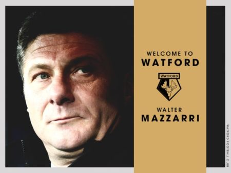 Mazzarri è il nuovo tecnico del Watford - FOTO: account ufficiale Twitter Watford FC