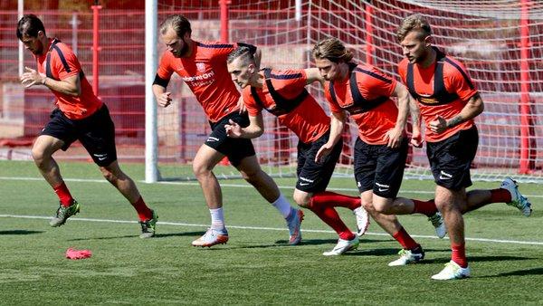 Una sessione d'allenamento della squadra - FOTO: account ufficiale Twitter FC Twente