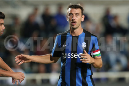 Gianpaolo Bellini, bandiera e capitano dell'Atalanta. Fonte atalanta.it