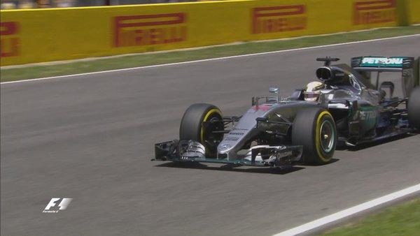 Lewis Hamilton conquista la pole position del Gp di Spagna. Fonte: Twitter @F1