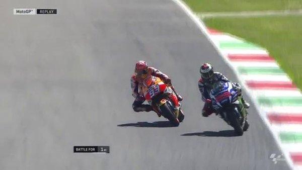 Jorge Lorenzo e Marc Marquez - Fonte: Twitter @MotoGP