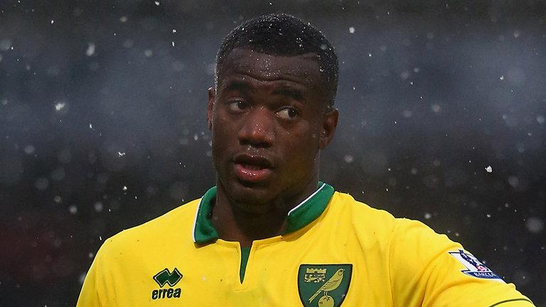 Bassong, difensore del Norwich - FOTO: skysports.com