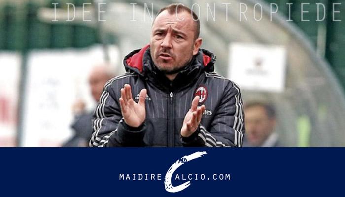 Cristian brocchi, allenatore Milan