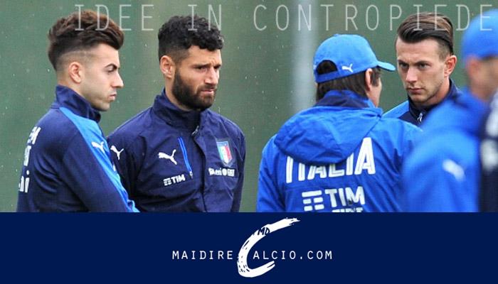 Antonio Conte e le convocazioni dell'Italia, con El Shaarawy, Candreva e Bernardeschi