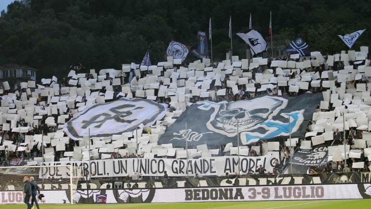 La curva dello Spezia - Foto fonte www.acspezia.com