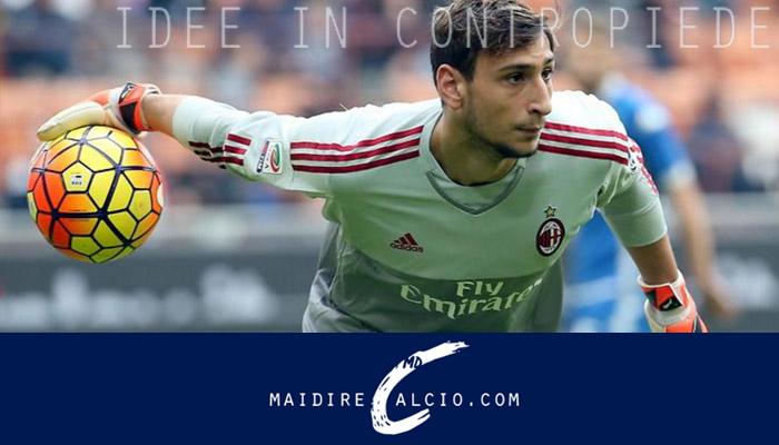 Gianluigi Donnarumma, Milan Serie A