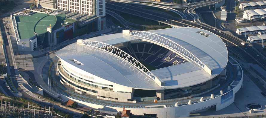 Il colpo d'occhio dello stadio portoghese - FOTO: footballtripper.com