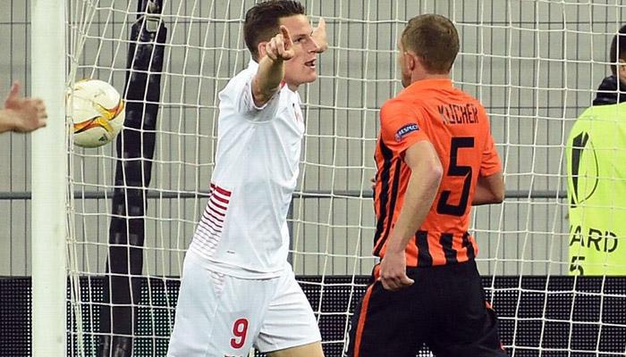Kevin Gameiro, Siviglia-Shakhtar Donetsk - Fonte account ufficiale Kevin Gameiro
