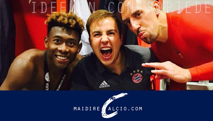 Mario Goetze, Bayern Monaco