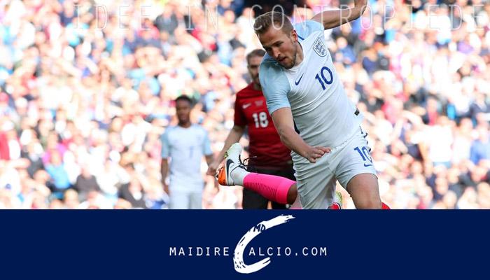 Inghilterra-Turchia, Kane in azione