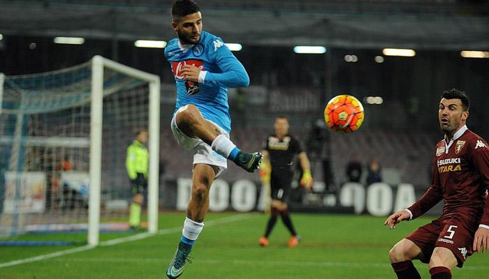 Napoli-Atalanta, le formazioni ufficiali: Insigne dal primo minuto