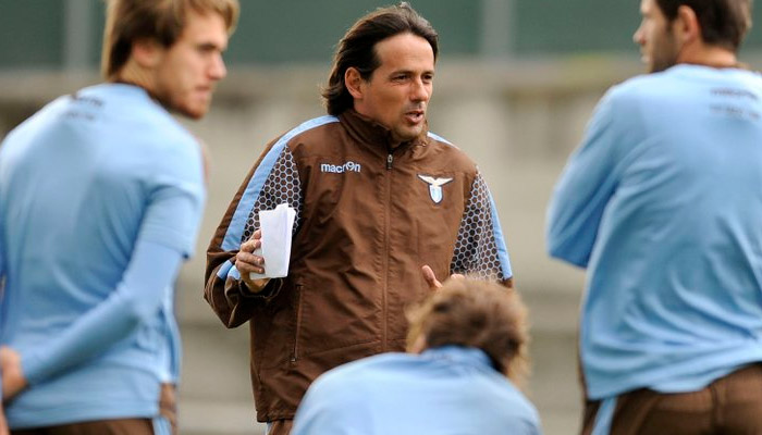 Simone Inzaghi, Lazio - Fonte account Twitter ufficiale Lazio