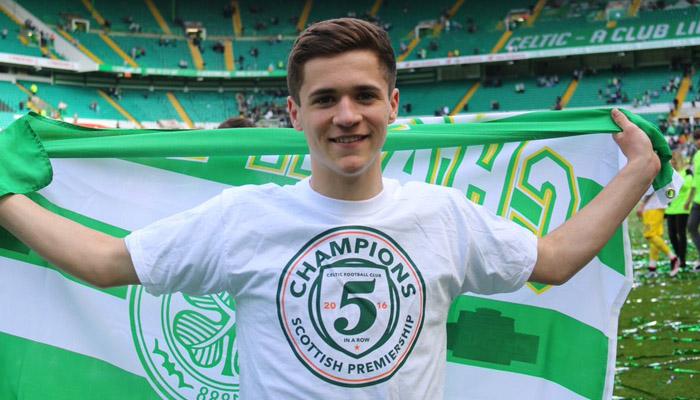 Jack Aitchison, Celtic - Fonte account Twitter ufficiale Celtic