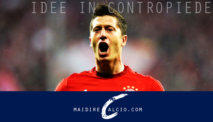 Robert Lewandowski nella Top8 di Fox Sports
