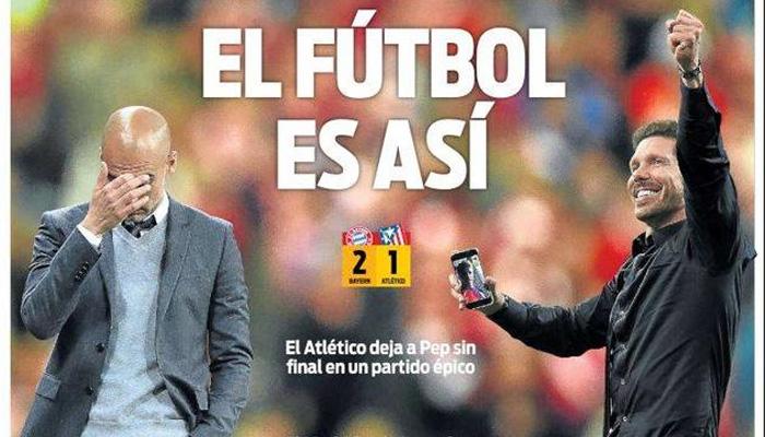 Rassegna stampa estera, prima pagina Sport