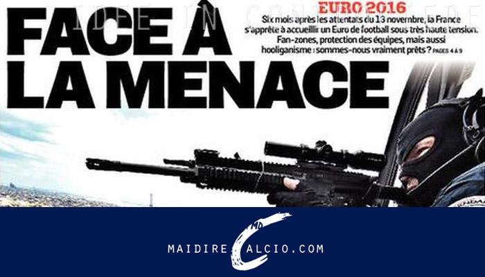 Rassegna stampa estero, prima pagina L'Equipe