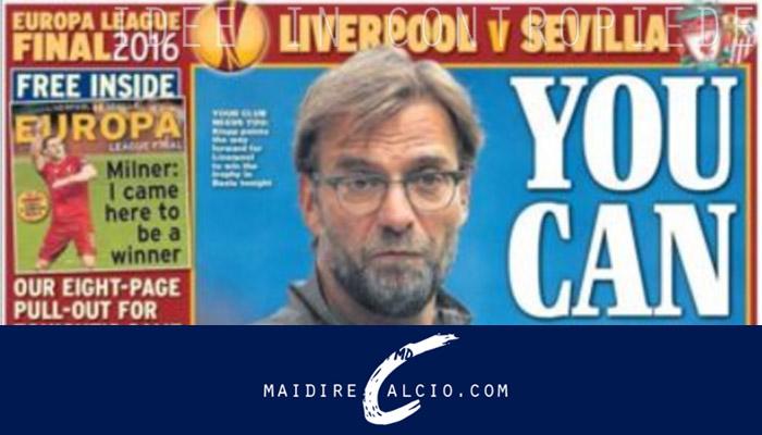Rassegna stampa, Klopp - Liverpool