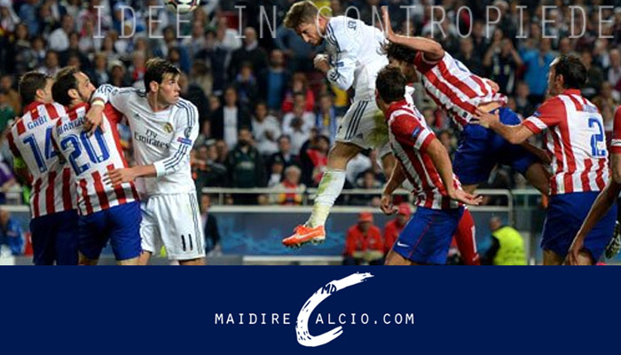 Real Madrid-Atletico Madrid, Champions League