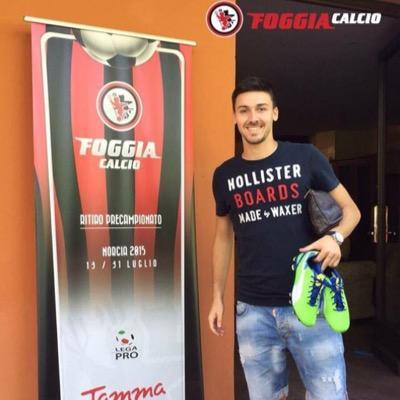 Marti Riverola, alla prima stagione con la maglia del Foggia Fonte - @martiriverola20