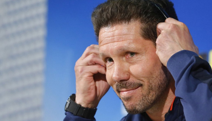 Diego Pablo Simeone, Atletico Madrid - Fonte Twitter account ufficiale Atletico Madrid